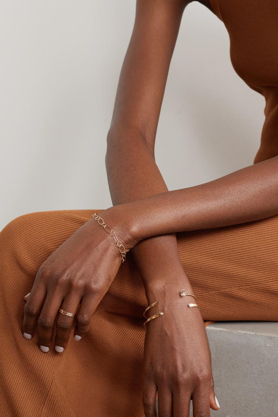 Melissa Joy Manning 14-karat gold bracelet