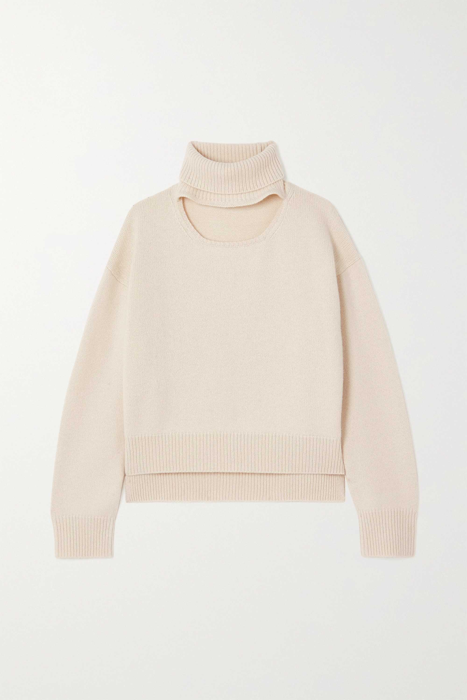 Wool Blend Sweater Cream