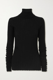 Petar Petrov Karen ribbed merino wool turtleneck sweater