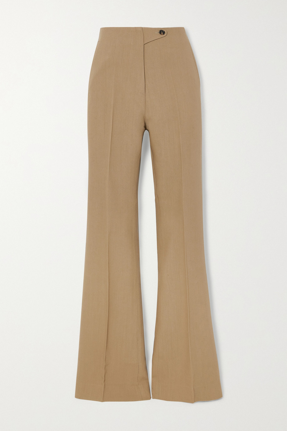 Petar Petrov Haley wool and silk-blend wide-leg pants