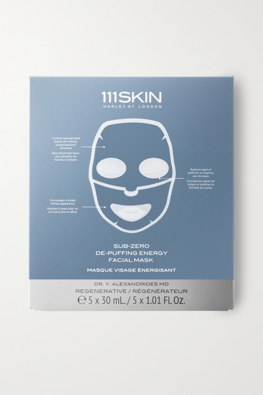 111SKIN Sub-Zero De-Puffing Energy Facial Mask – 5 Gesichtsmasken