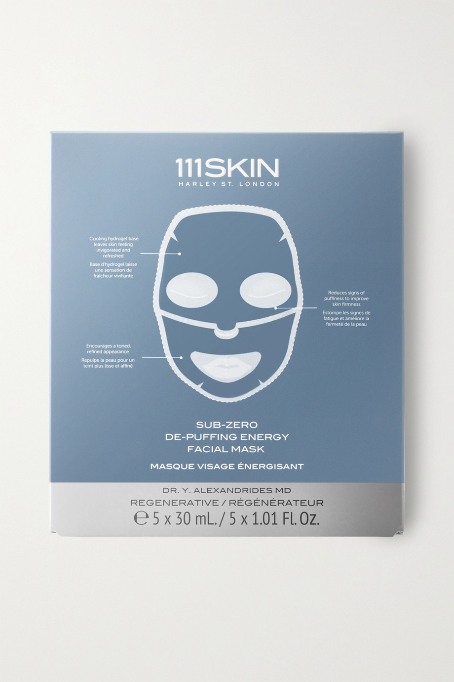 111SKIN Sub-Zero De-Puffing Energy Facial Mask x 5