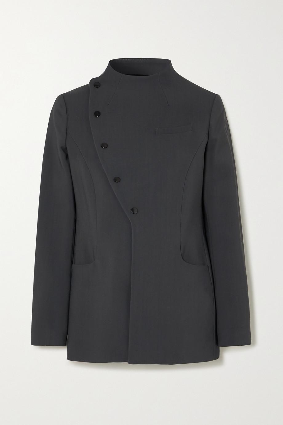 Coperni Asymmetrische Jacke aus Webstoff