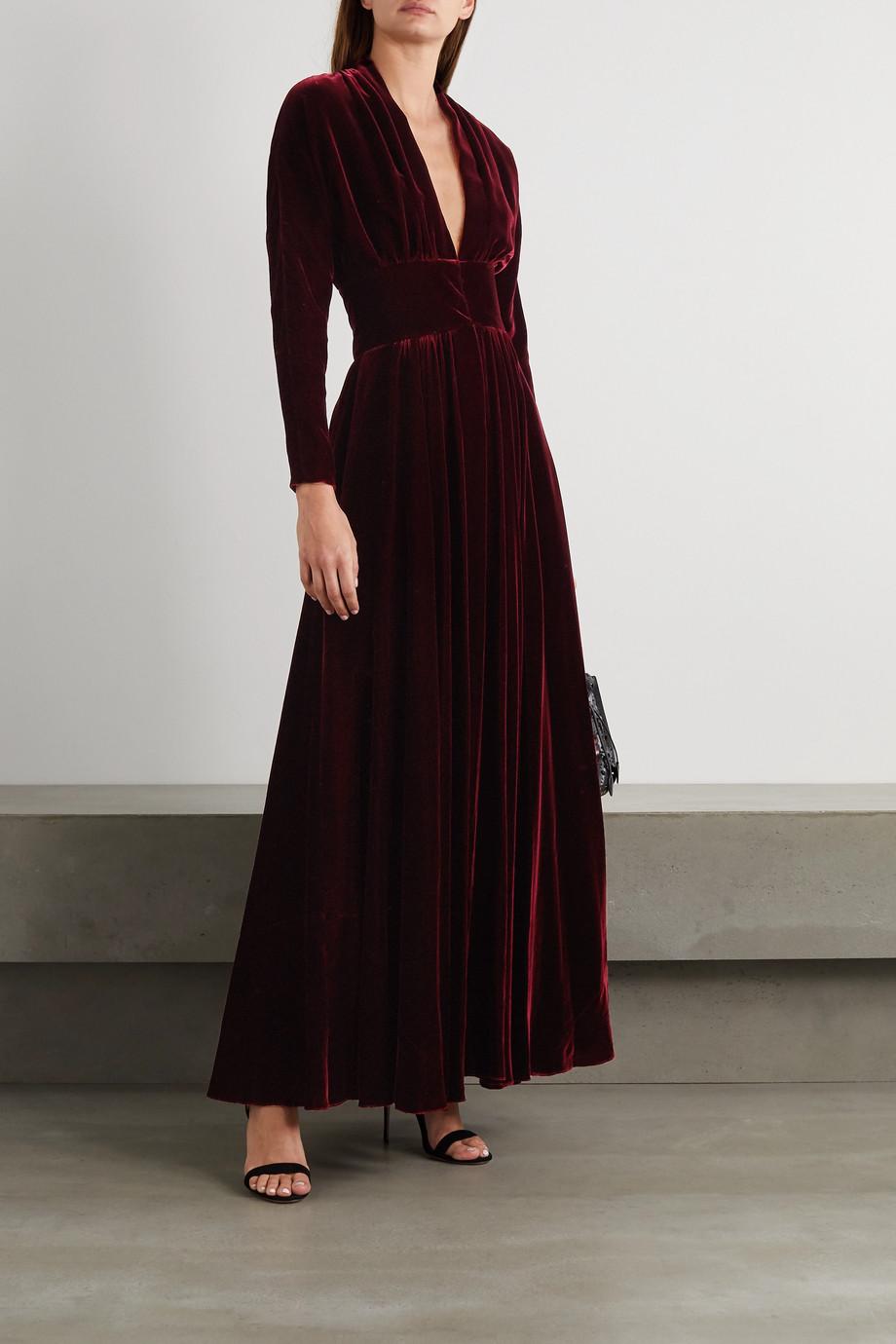 Alaïa Velvet gown