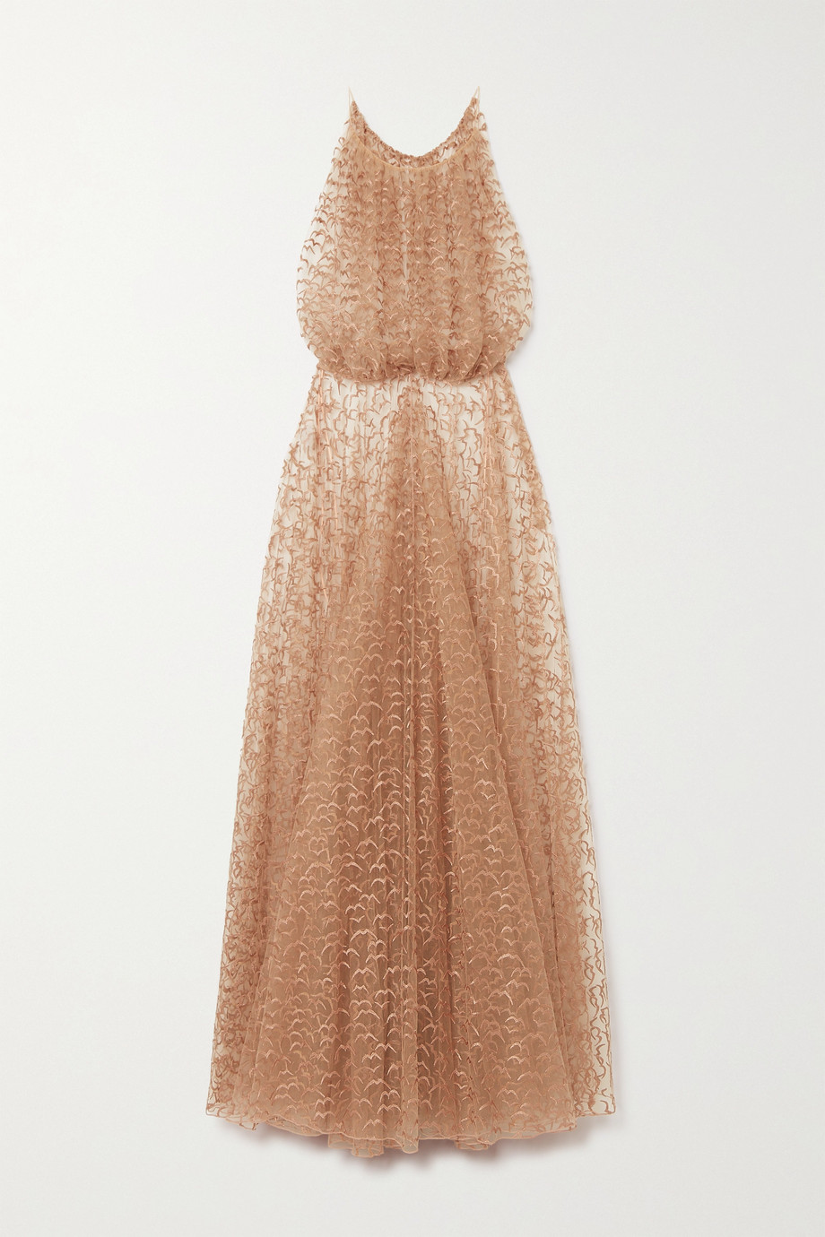 Alaïa Embroidered tulle gown