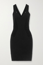 Alaïa Ribbed wool-blend mini dress