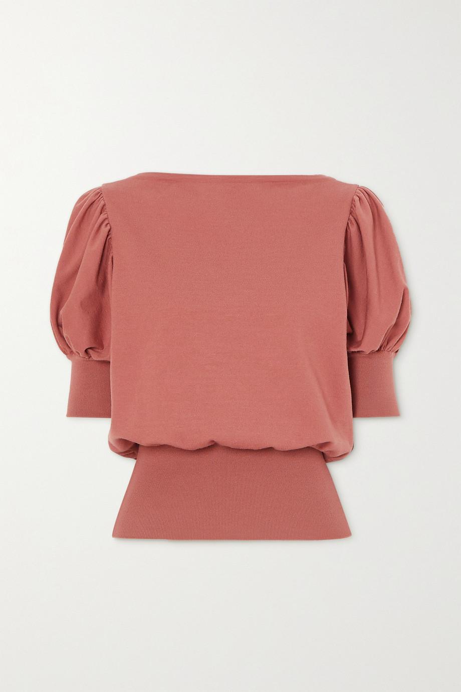 Alaïa Wool-blend top