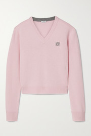 Loewe Embroidered wool sweater