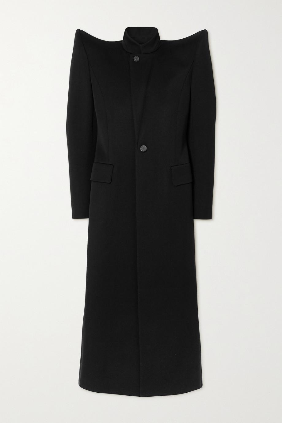 Balenciaga Mantel aus Woll-Twill