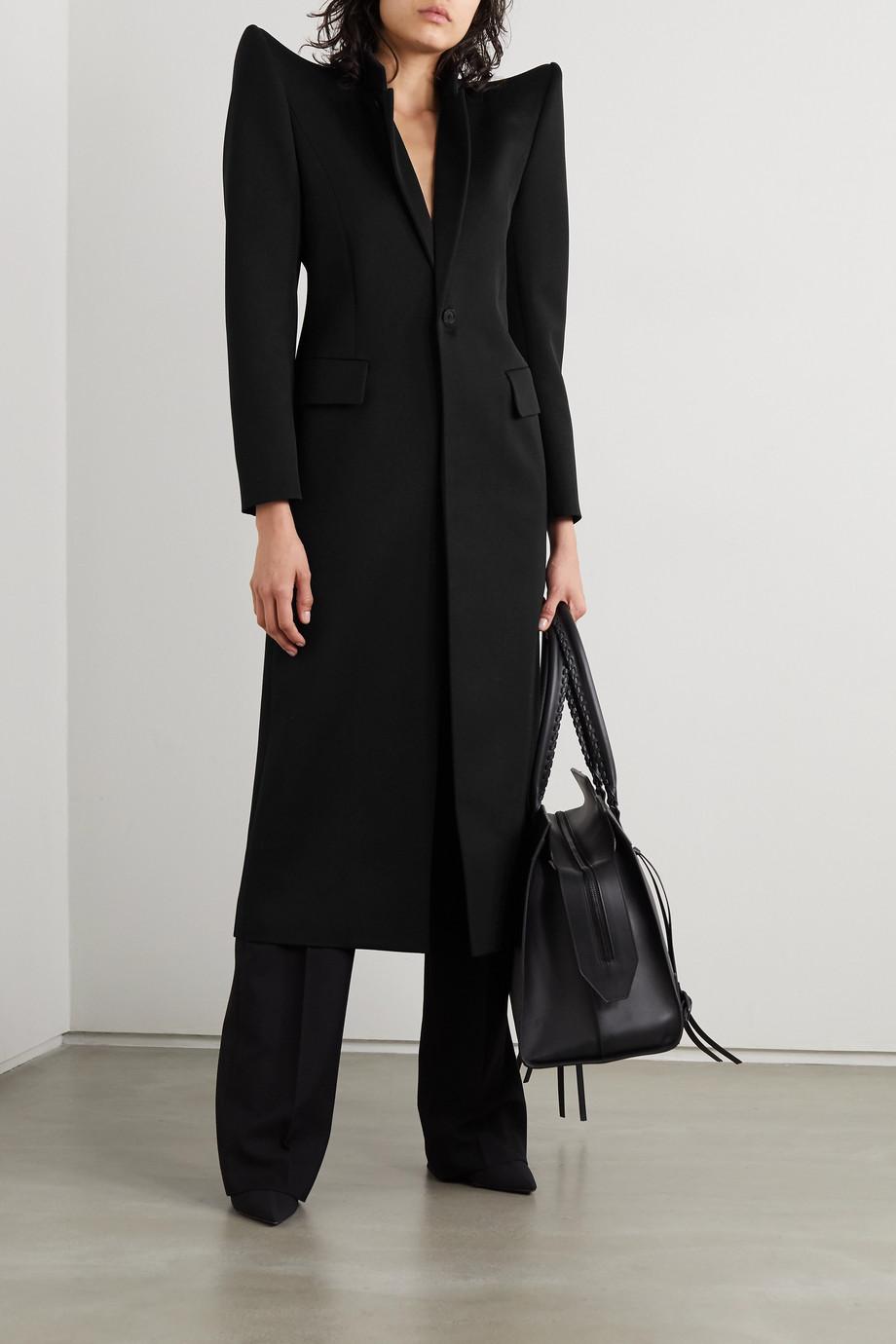 Balenciaga Manteau en serge de laine