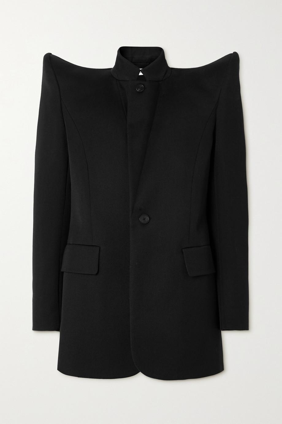 Balenciaga Pagoda wool-twill jacket