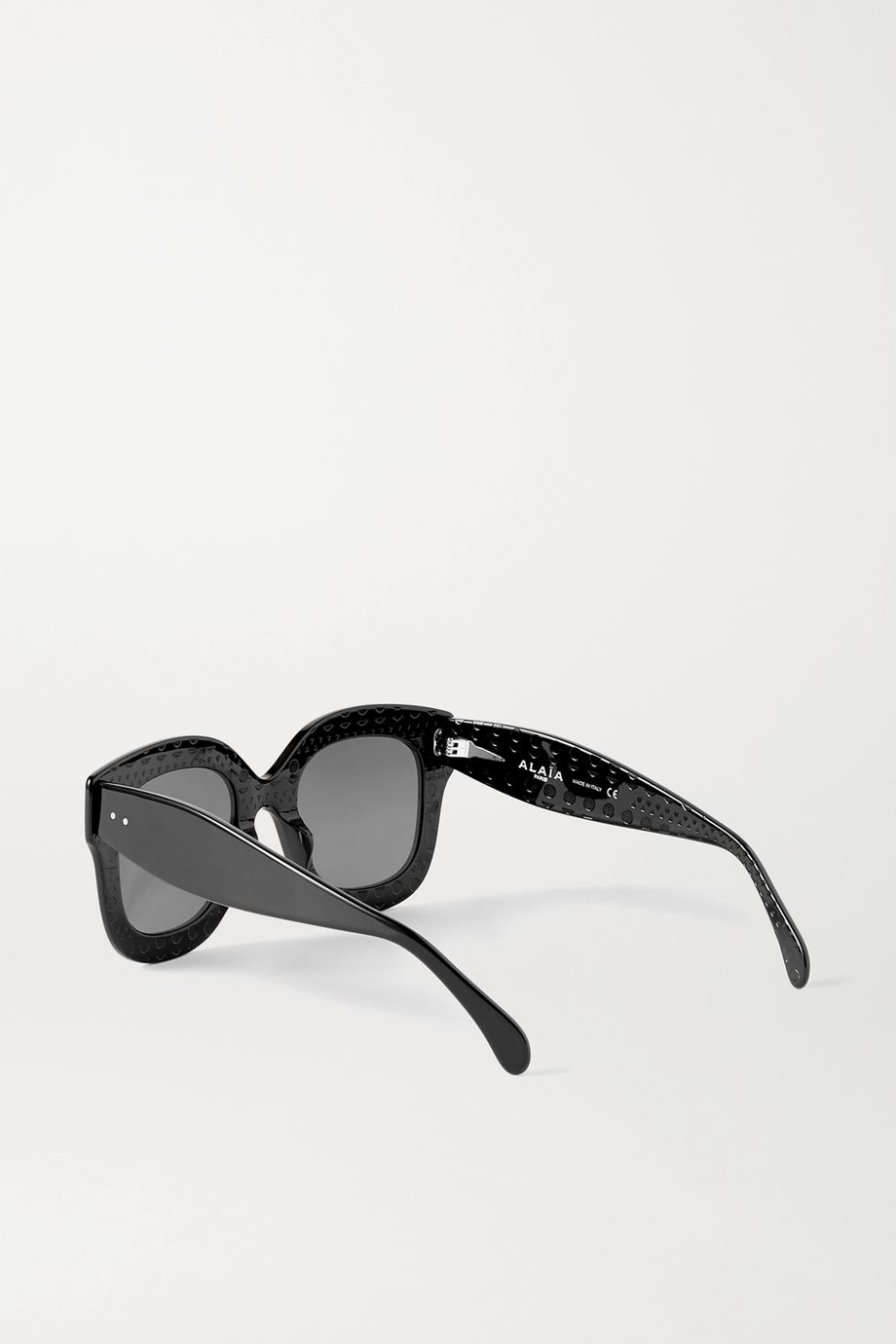 Alaïa D-frame acetate sunglasses