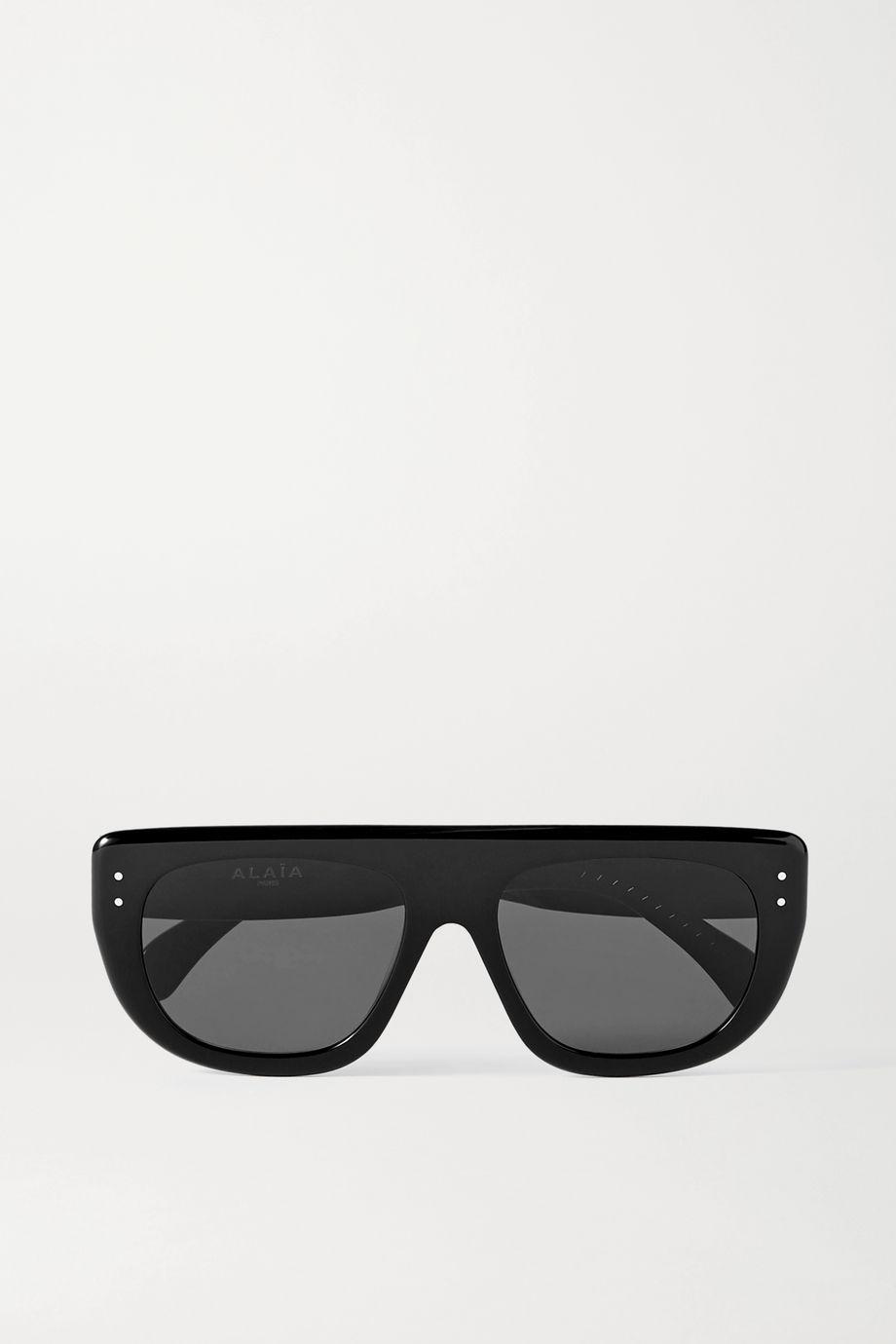 Alaïa Sonnenbrille mit D-Rahmen aus Azetat