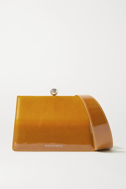 Ratio et Motus Mini Twin ombré coated-suede shoulder bag
