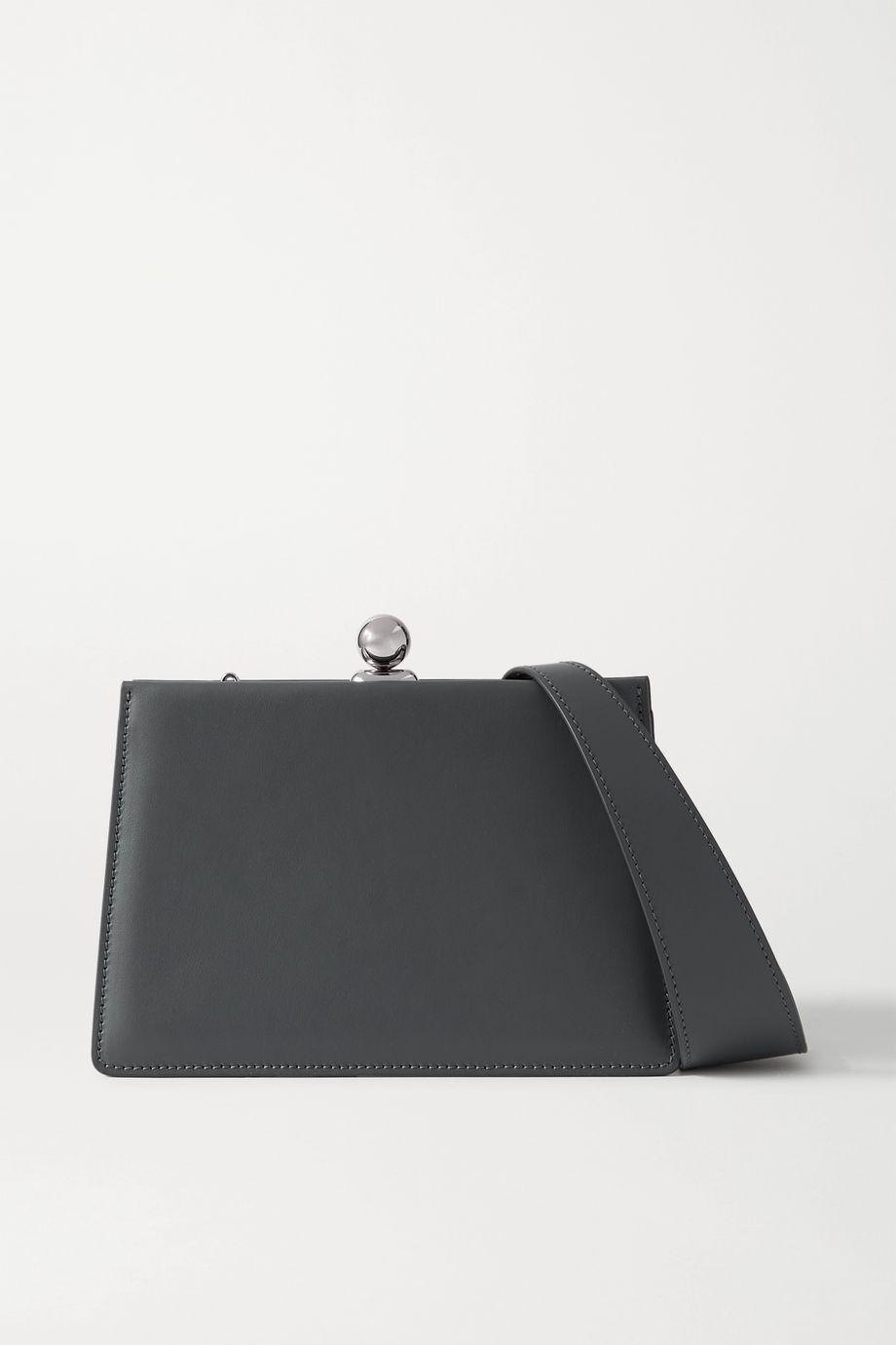Ratio et Motus Mini Twin Schultertasche aus Leder