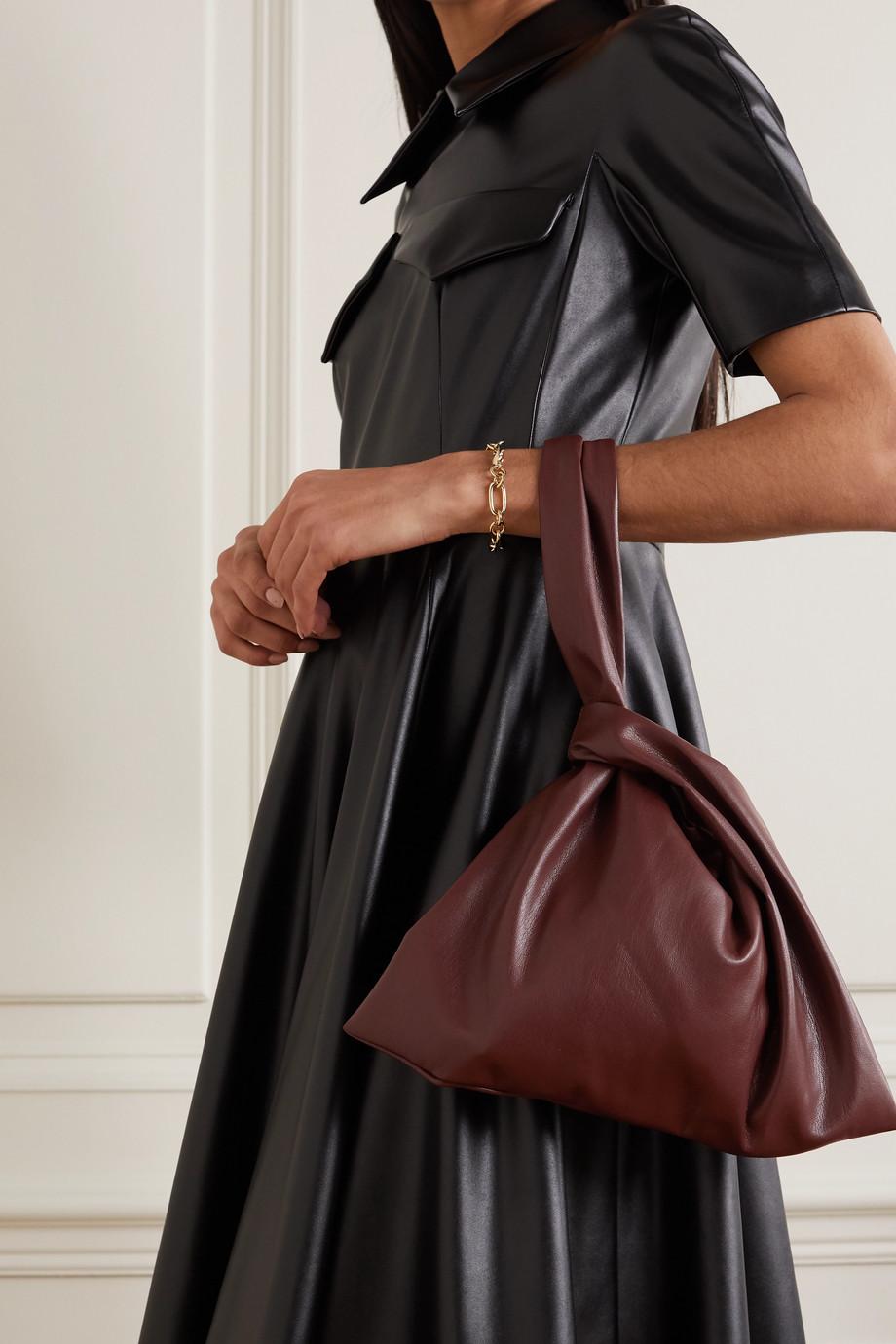Nanushka Jen knotted vegan leather tote
