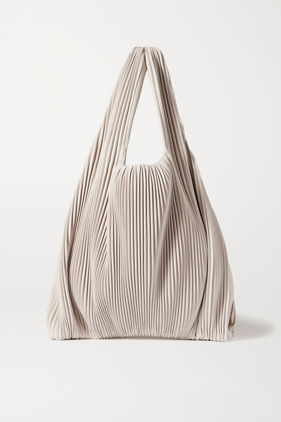 Nanushka Jo pleated vegan leather tote