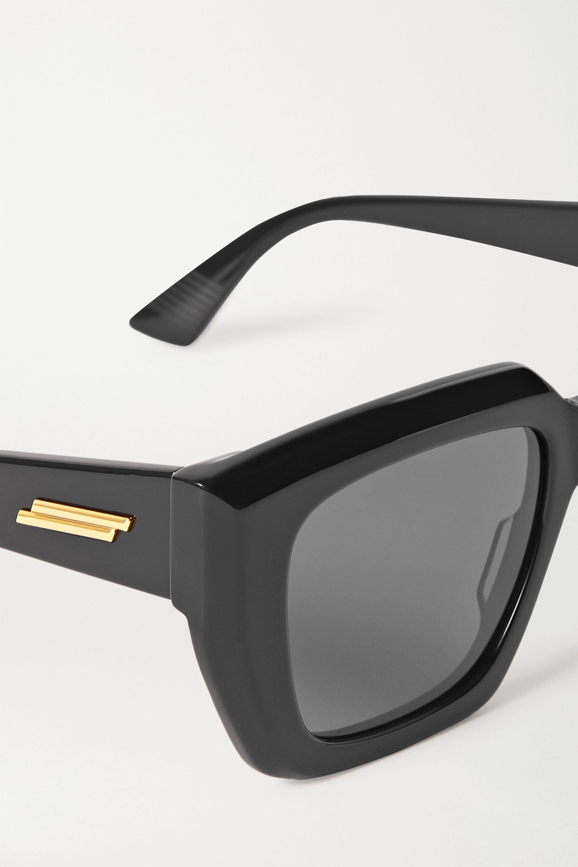 Bottega Veneta Oversized square-frame acetate sunglasses