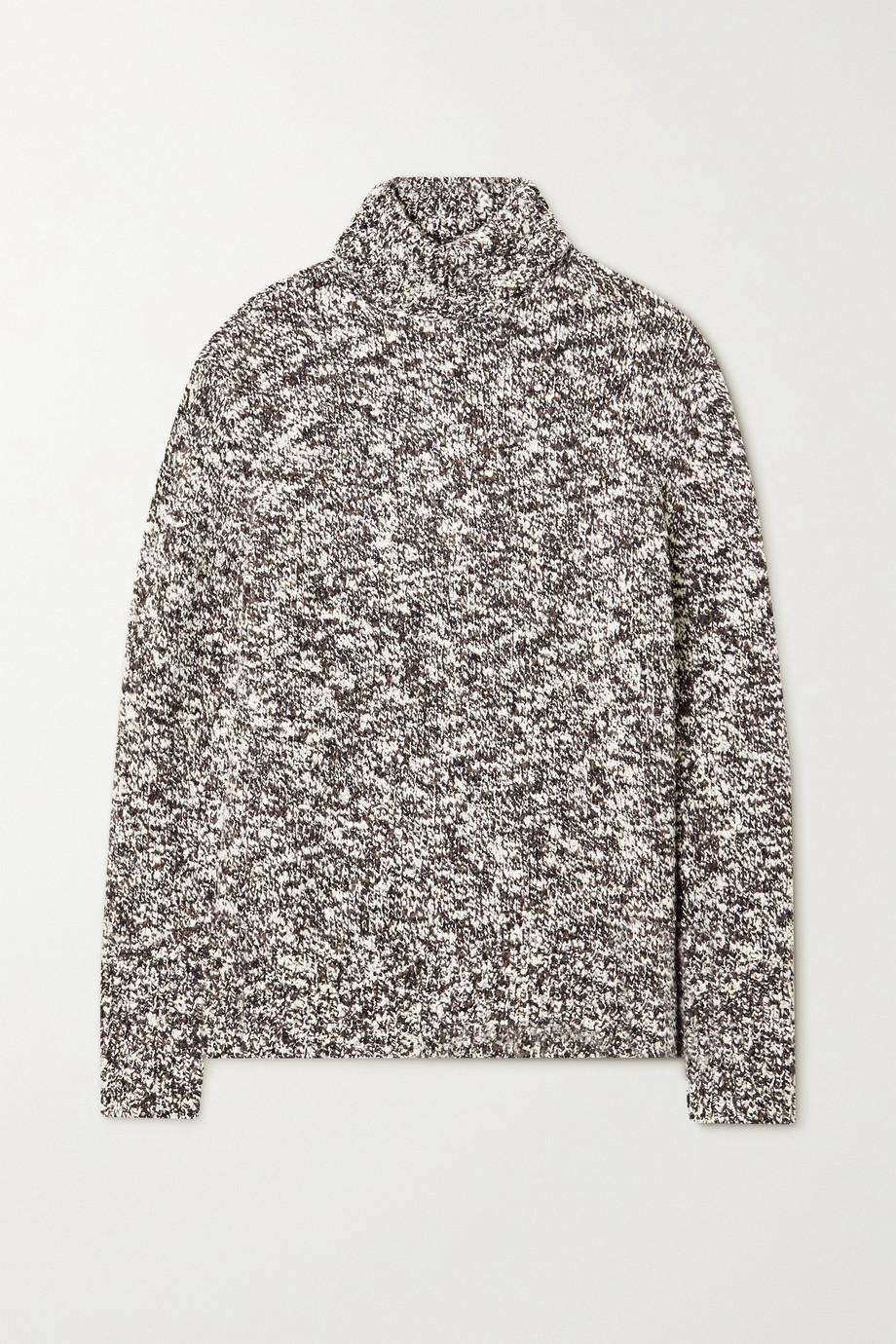 Joseph Merino wool-blend bouclé turtleneck sweater