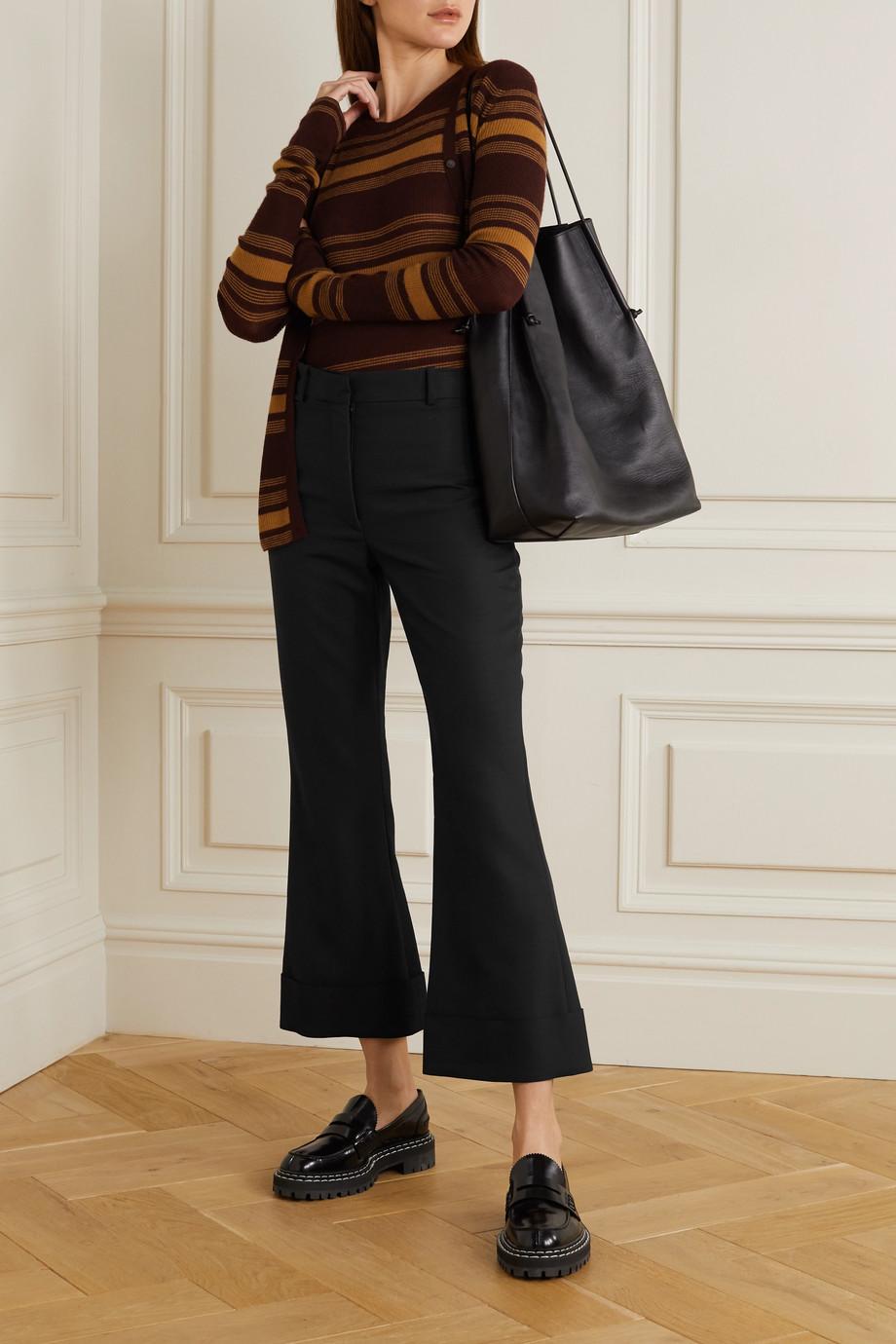 Joseph Tile wool-blend flared pants