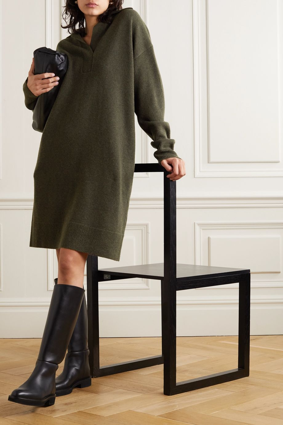 Joseph Oversized wool dress