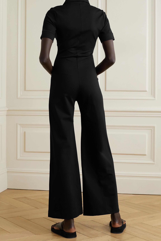 Suzie Kondi Combi-pantalon en mailles point de Rome stretch