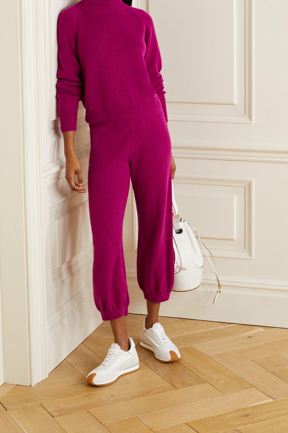Suzie Kondi Cashmere track pants