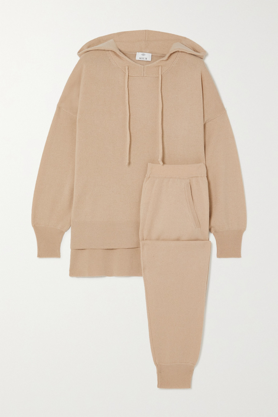 Allude Cashmere hoodie and track pants set
