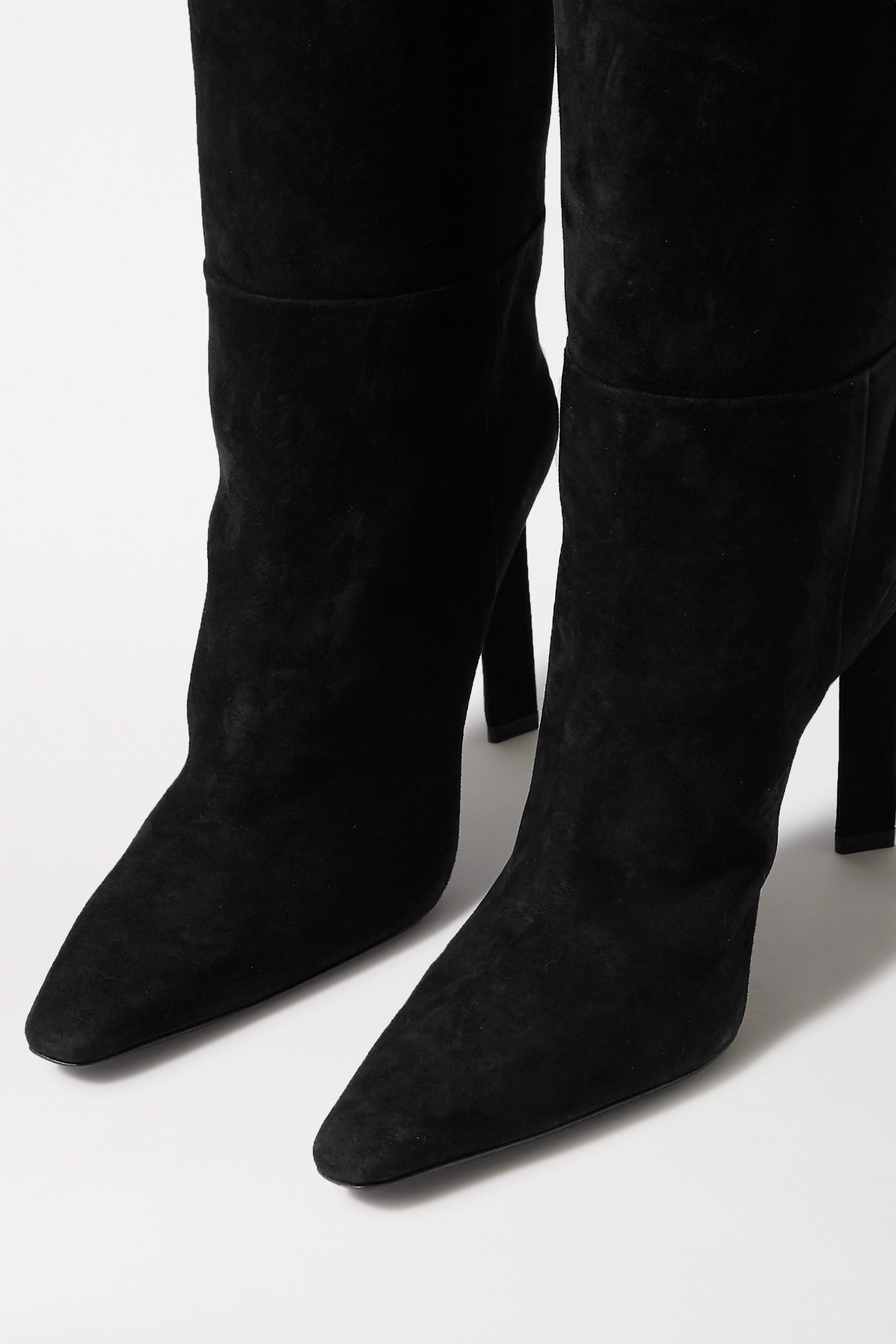 The Attico Suede knee boots