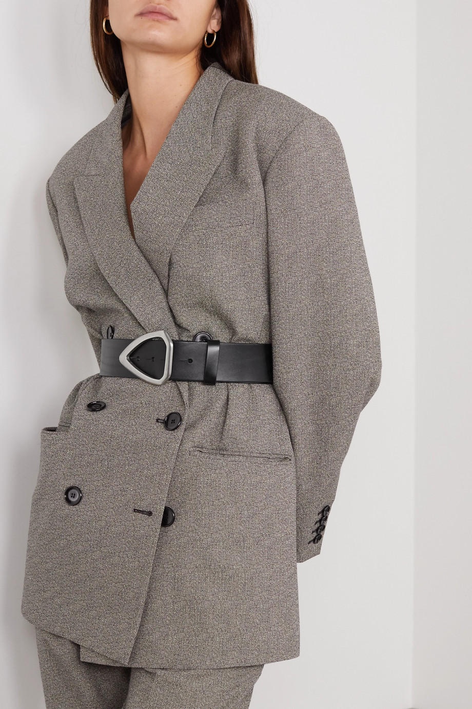 Isabel Marant Idiani leather waist belt