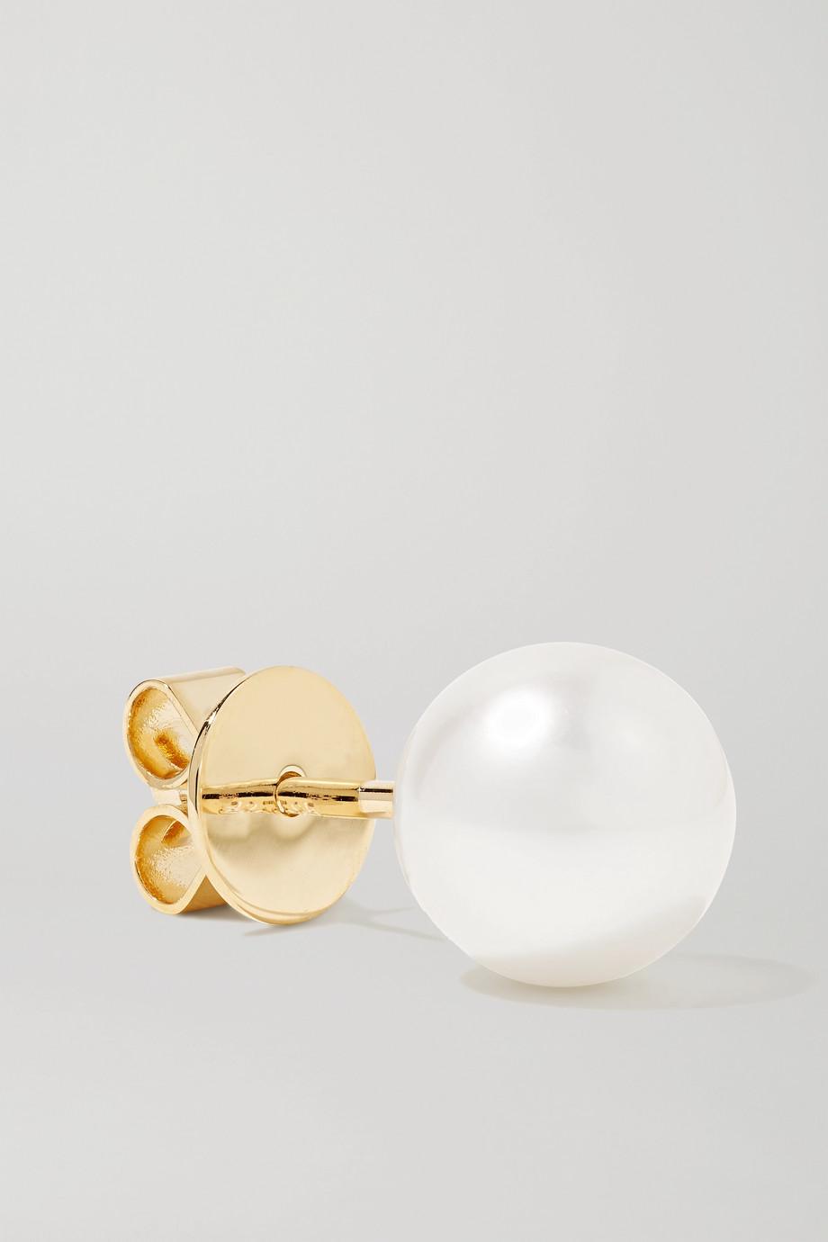 Sophie Bille Brahe Petit Perle 14-karat gold pearl earring
