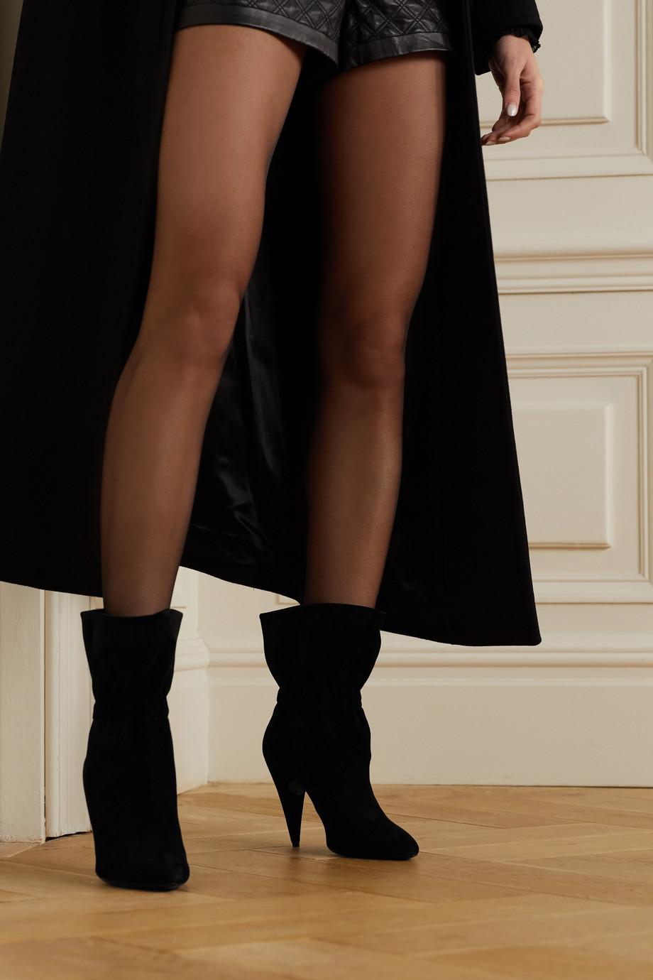 SAINT LAURENT Etienne suede ankle boots