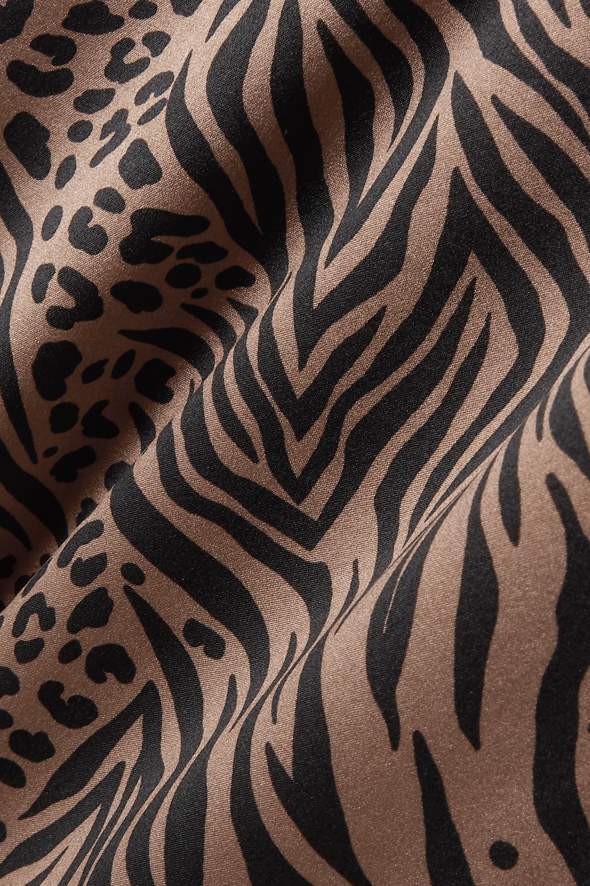 Cami NYC The Olivia animal-print silk-charmeuse camisole