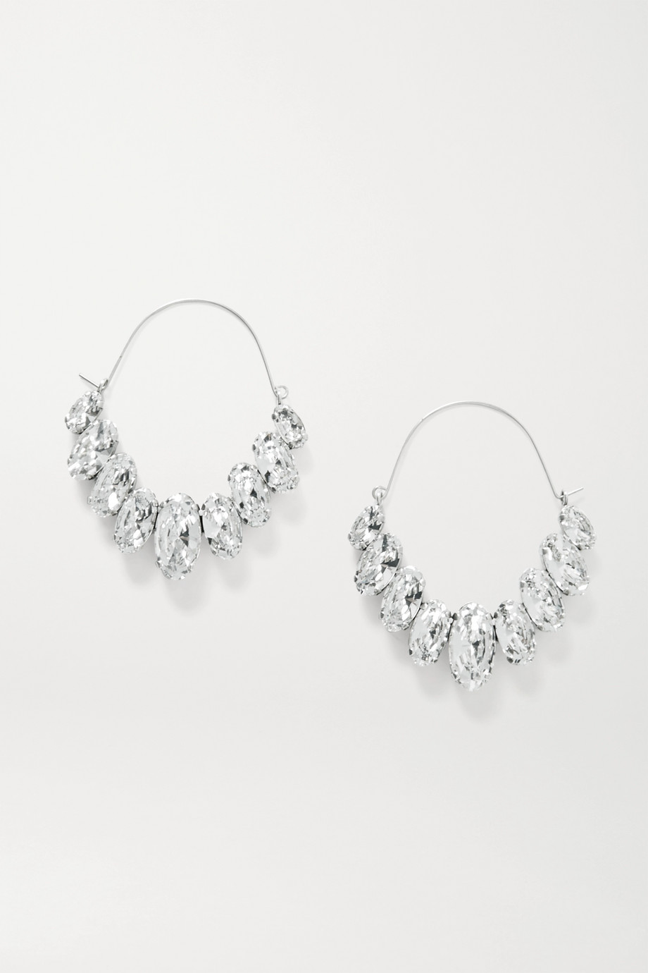 Isabel Marant Ho La La silver-tone crystal earrings