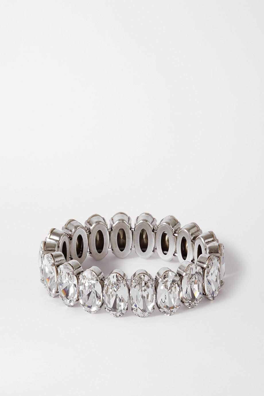 Isabel Marant Ho La La silver-tone crystal bracelet