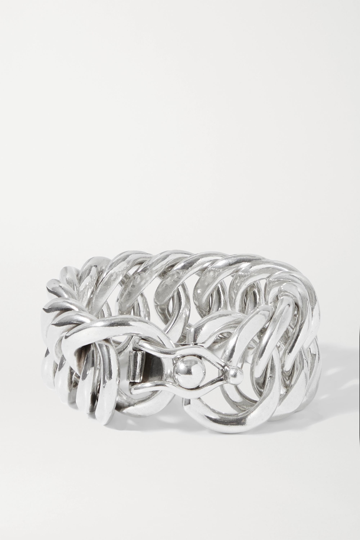 Isabel Marant Hip silberfarbenes Armband