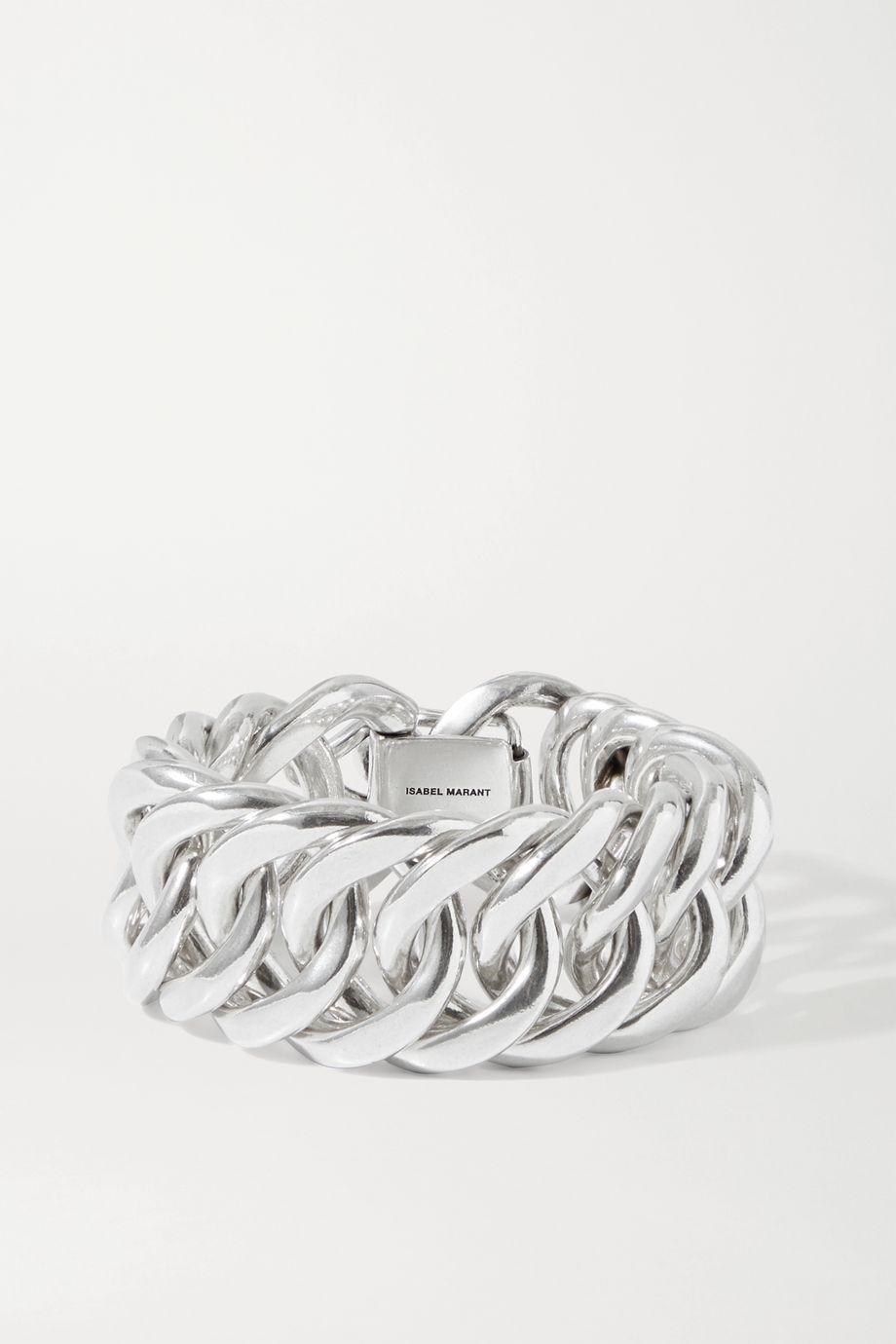 Isabel Marant Hip silver-tone bracelet