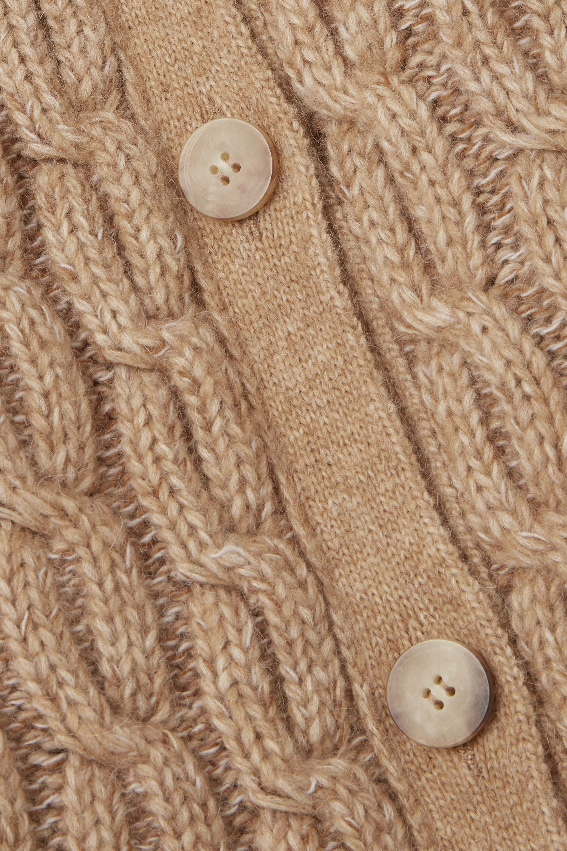Beige Cable-knit Cardigan | Chloé