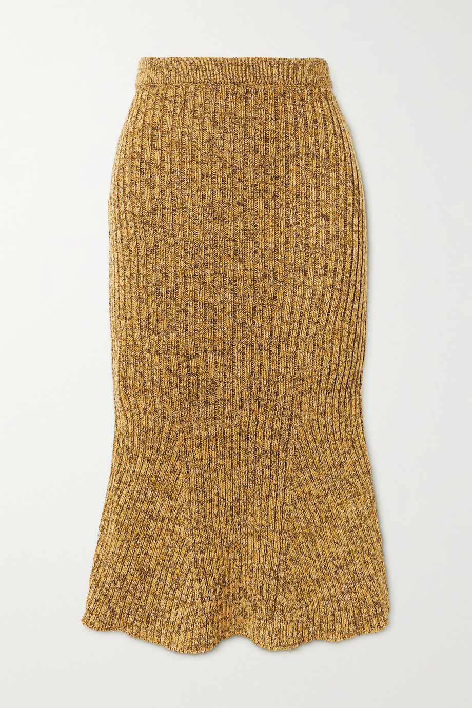 Christopher Kane Ribbed wool skirt