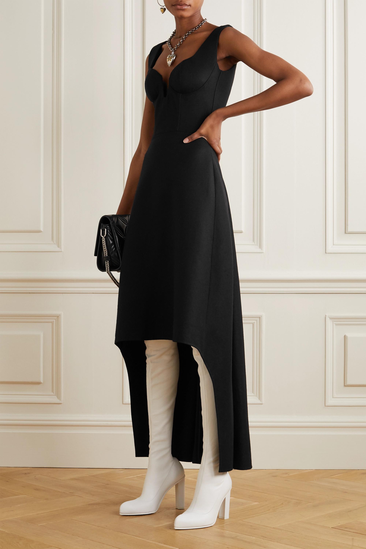 Alexander McQueen Asymmetrisches Wollkleid