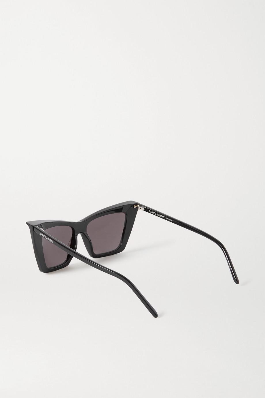 SAINT LAURENT 板材猫眼太阳镜