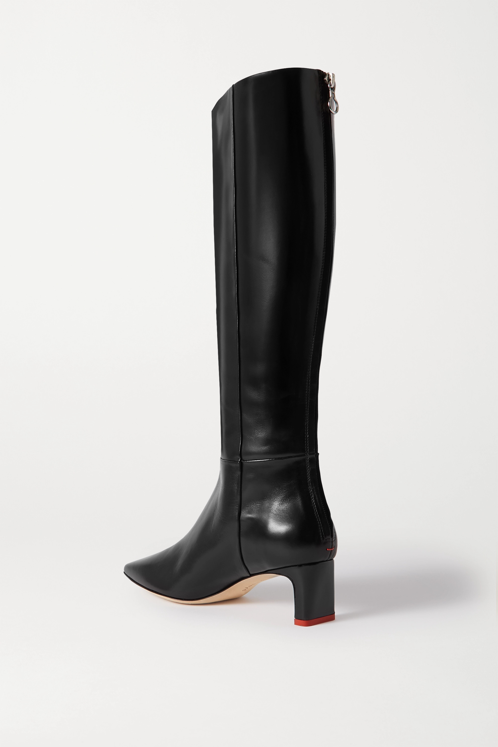 aeyde Sidney leather knee boots
