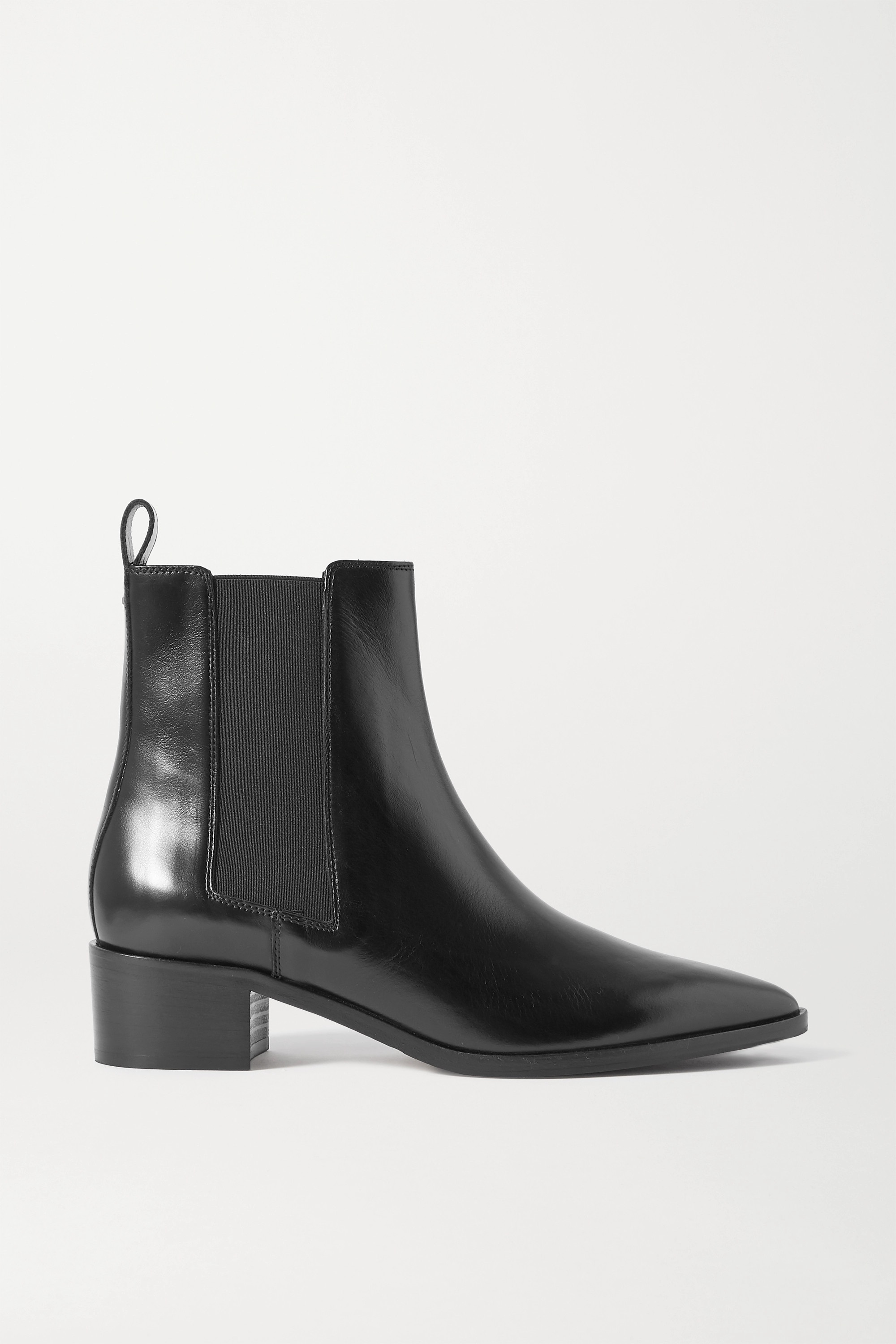 aeyde Lou leather Chelsea boots