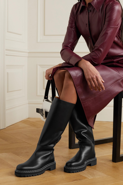 Proenza Schouler Leather knee boots
