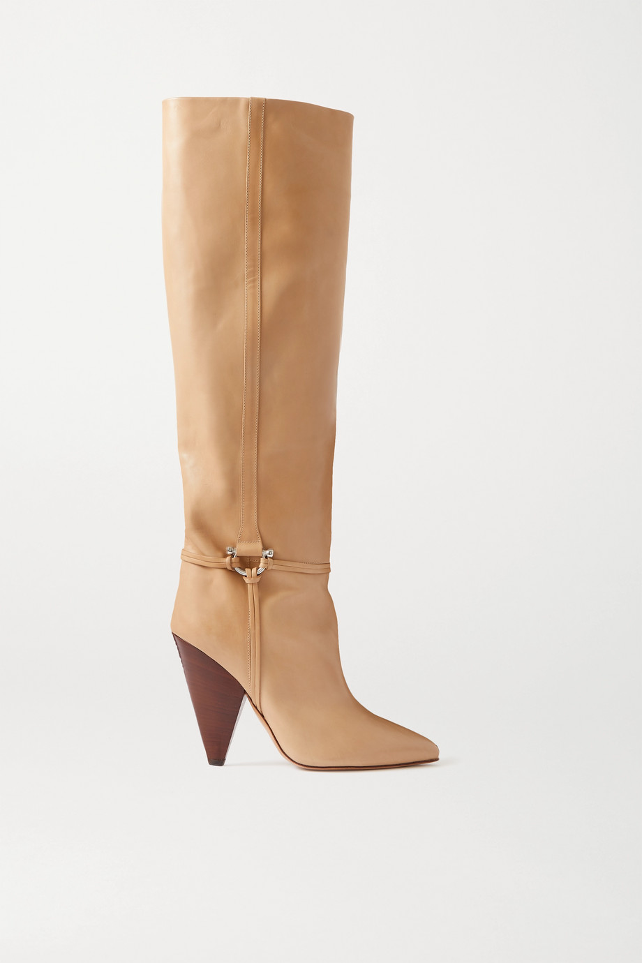 Isabel Marant Lazu leather knee boots