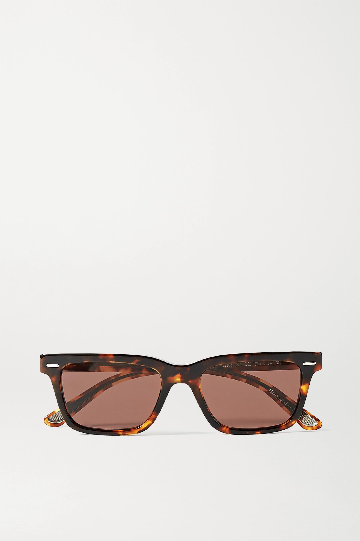 The Row + Oliver Peoples BA CC square-frame tortoiseshell acetate sunglasses