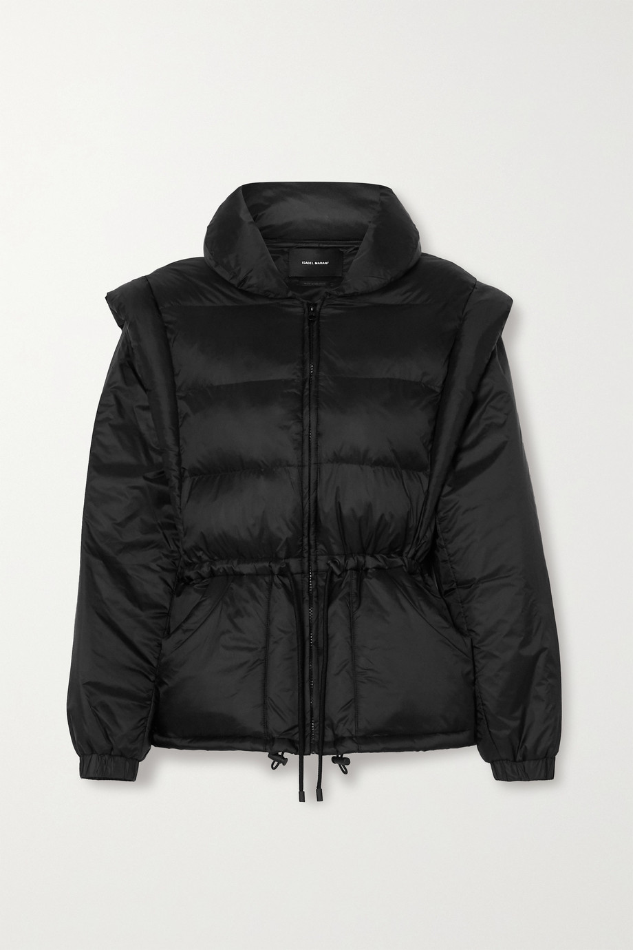 Isabel Marant Darsha convertible quilted padded shell jacket