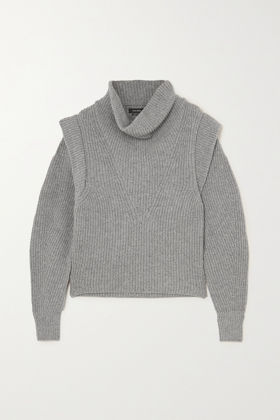 Isabel Marant Poppy ribbed cashmere and wool-blend turtleneck sweater