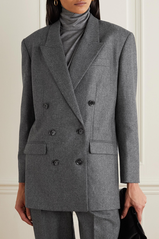Isabel Marant Oladimia double-breasted wool blazer
