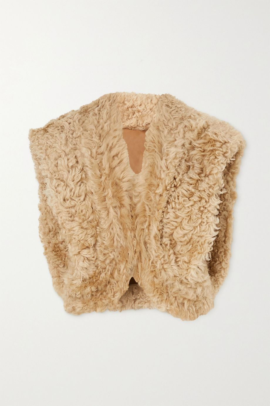 Isabel Marant Astio shearling vest
